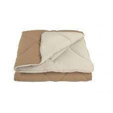 """Одеяло """"ALASKA"""" 150*210 см Шоколадный (комбинированный)"""