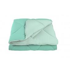 """Одеяло """"ALASKA"""" 150*210 см  Бирюзовый (комбинированный)"""