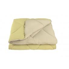 """Одеяло """"WASHED COTTON"""" 150*210 см  Жёлтый тёмный (комбинированный)"""