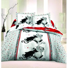 """Комплект постельного белья """"ТЕП"""" семейный Cats"""